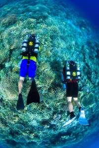 Poseidon Rebreather Open water Diver course at Kasai Village