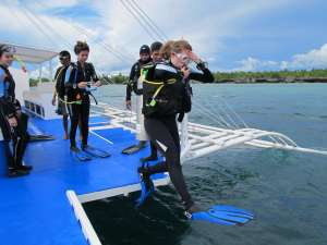 Advanced Adventurer course in Moalboal, Cebu, Philippines