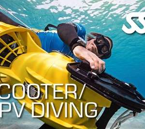 DPV - Scooter Diver at Kasai Village Dive Academy