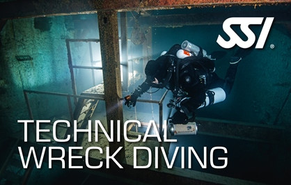 Technical Wreck Diving Course at Kasai Village Dive Academy