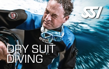 Dry suit course with Kasai Village Dive Academy